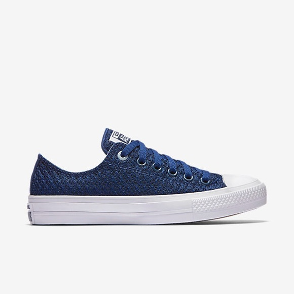 255f658e765c Converse All Star II Spacer Mesh Low Top Blue 5.5